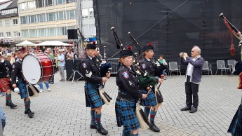 Hohenlohe Highlanders Pipes and Drums